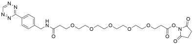 Tetrazine-PEG5-NHS ester