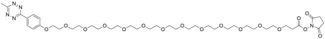 Methyltetrazine-PEG12-NHS ester