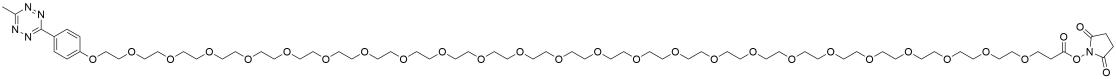 Methyltetrazine-PEG24-NHS ester