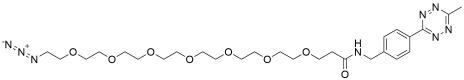 Methyltetrazine-amido-PEG7-azide