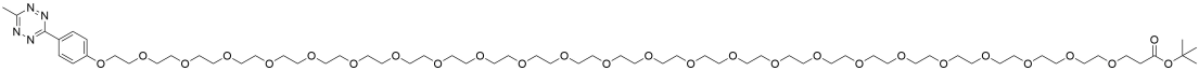 Methyltetrazine-PEG24-t-butyl ester