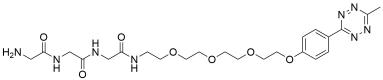Gly-Gly-Gly-PEG4-methyltetrazine