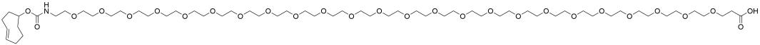 TCO-PEG24-acid
