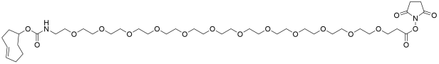 TCO-PEG12-NHS ester