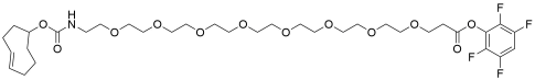 TCO-PEG8-TFP ester