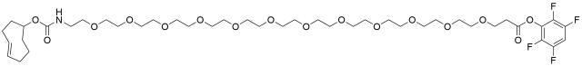 TCO-PEG12-TFP ester