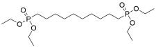 Tetraethyl decane-1,10-diylbis(phosphonate)