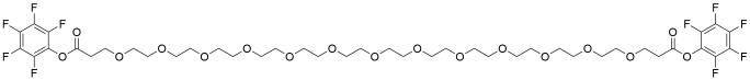 Bis-PEG13-PFP ester