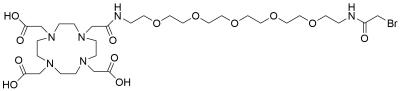 Bromoacetamido-PEG5-DOTA