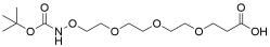 t-Boc-Aminooxy-PEG3-acid