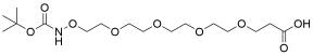 Boc-aminoxy-PEG4-acid