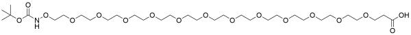 t-Boc-Aminooxy-PEG12-acid