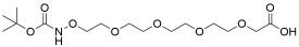 t-Boc-Aminooxy-PEG4-CH2CO2H