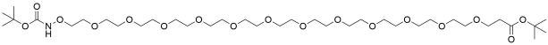 t-Boc-Aminooxy-PEG12-t-butyl ester