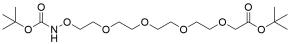 t-Boc-Aminooxy-PEG4-CH2CO2-t-Bu