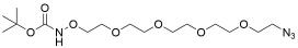 t-Boc-Aminooxy-PEG4-azide
