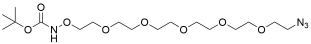 t-Boc-Aminooxy-PEG5-azide