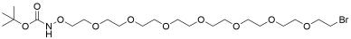 t-Boc-Aminooxy-PEG7-bromide