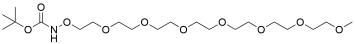 t-Boc-Aminooxy-PEG7-methane