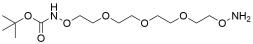 t-Boc-Aminooxy-PEG3-oxyamine