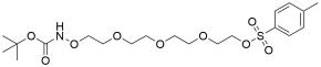 t-Boc-Aminooxy-PEG4-Tos