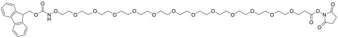 Fmoc-aminooxy-PEG12-NHS ester