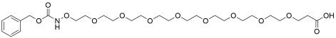 CBZ-aminooxy-PEG8-acid