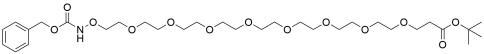 CBZ-aminooxy-PEG8-t-butyl ester