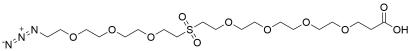 Azido-PEG3-Sulfone-PEG4-acid