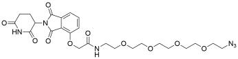 Thalidomide-O-amido-PEG4-azide