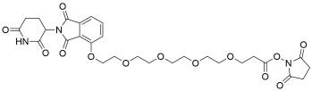 Thalidomide-O-PEG4-NHS ester