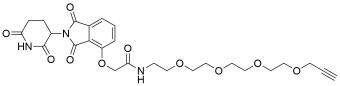Thalidomide-O-amido-PEG4-propargyl