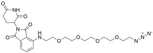 Pomalidomide-PEG4-Azide