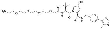 (S,R. S)-AHPC-PEG4-amine hydrochloride salt
