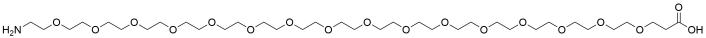 Amino-PEG16-acid