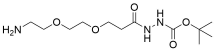 Amino-PEG2-t-Boc-hydrazide