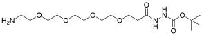 Amino-PEG4-t-Boc-hydrazide