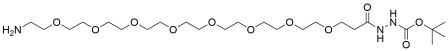 Amino-PEG8-t-Boc-hydrazide