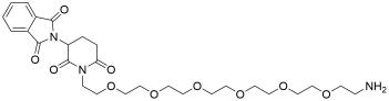 D-Amino-PEG6-Thalidomide TFA salt