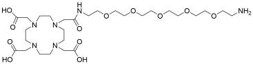 DOTA-PEG5-amine HCl salt