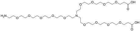 N-(Amino-PEG5)-N-bis(PEG4-acid)