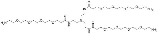 Tri(Amino-PEG4-amide)-amine TFA salt