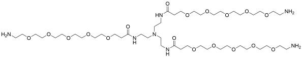 Tri(Amino-PEG5-amide)-amine TFA salt