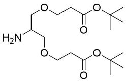 2-Amino-1,3-bis(t-butoxycarbonylethoxy)propane