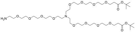N-(Amino-PEG4)-N-bis(PEG4-t-butyl ester)