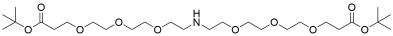 NH-bis(PEG3-t-butyl ester)