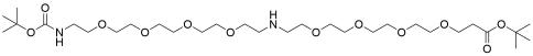 N-(t-Boc-N-Amido-PEG4)-NH-PEG4-t-butyl ester