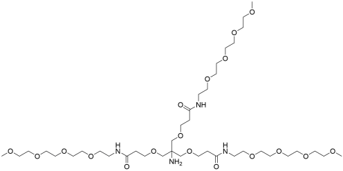 Amino-Tri-(m-PEG4-ethoxymethyl)-methane