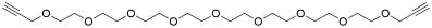Bis-propargyl-PEG9