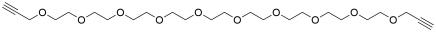 Bis-propargyl-PEG10